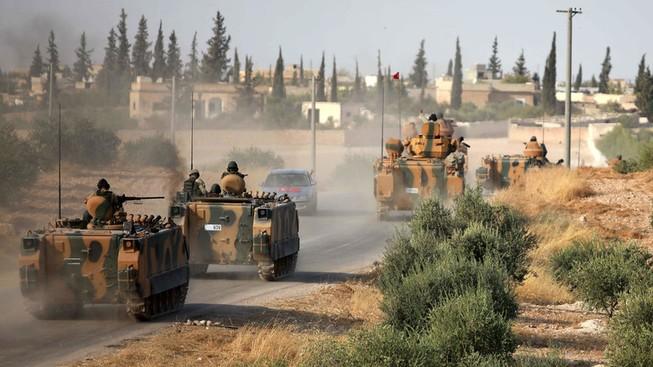 Đoàn xe quân sự của Thổ Nhĩ Kỳ