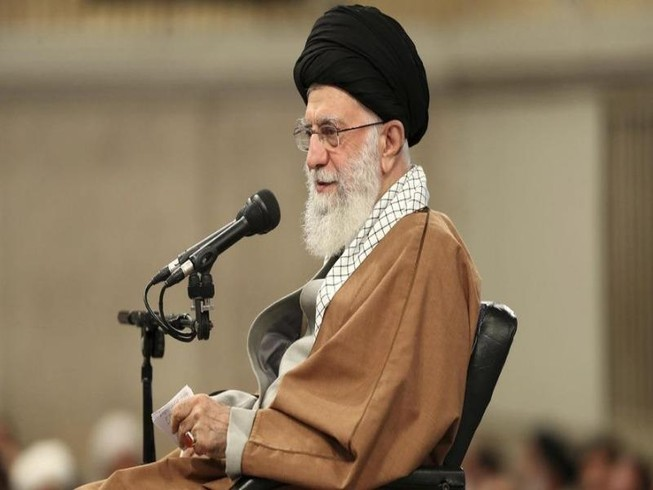 Lãnh tụ tối cao Iran Ali Khamenei. Ảnh: WASHINGTON TIMES
