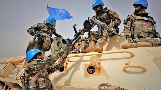 Lính Gìn giữ Hòa bình LHQ tại Mali