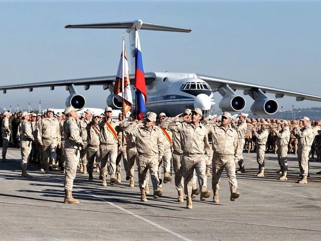 Căn cứ không quân Hmeimim của Nga ở Syria bị tấn công ngày 19-1. Ảnh: RUSSIAN MILITARY