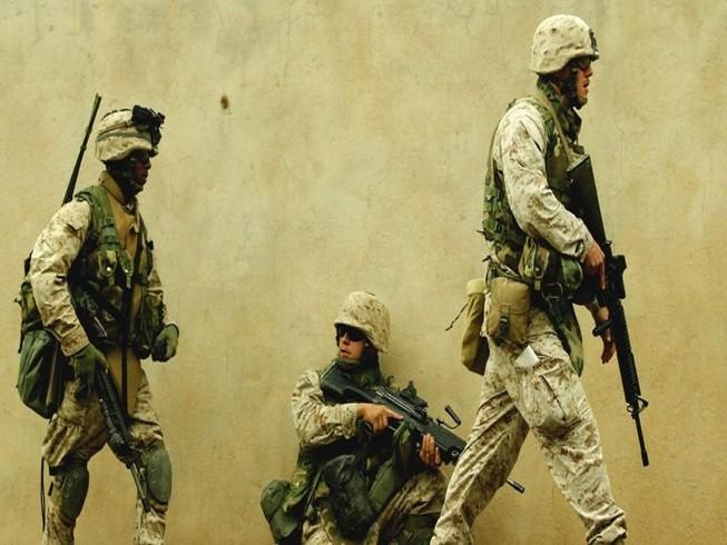 Mỹ vẫn tiếp tục duy trì sự hiện diện quân sự tại Trung Đông. Ảnh: REUTERS