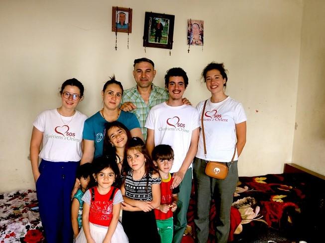 Bốn nhân viên của tổ chức từ thiện Pháp SOS Chrétiens d'Orient mất tích ở Iraq. Ảnh: SOS CHRÉTIENS d'ORIENT
