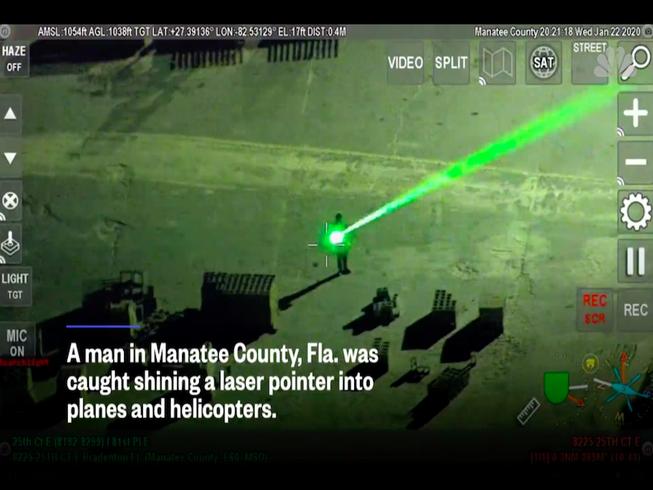 Hình ảnh từ camera tại sân bayẢnh: NBC NEWS