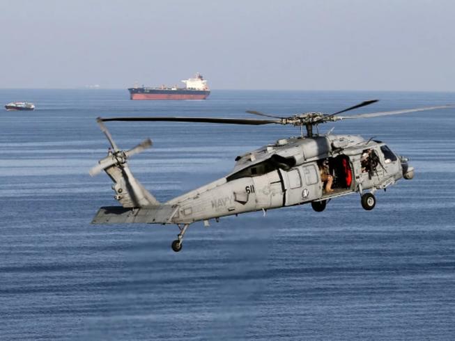 Trực thăng MH-60. Ảnh: REUTERS
