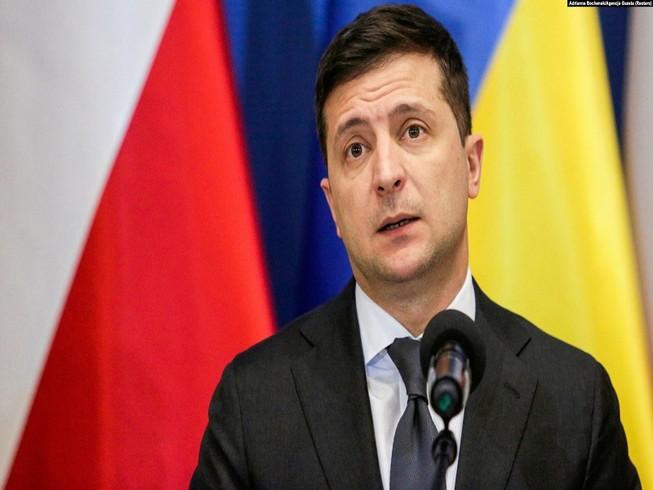 Tổng thống Ukraine Volodymyr Zelensky. Ảnh: REUTERS