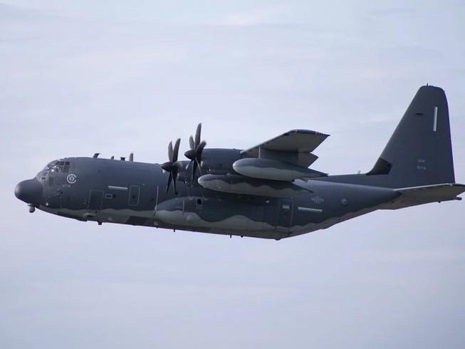 Mỹ điều máy bay MC-130J bay qua eo biển Đài Loan để thể hiện sự ủng hộ đối với vùng lãnh thổ này. Ảnh: SCMP
