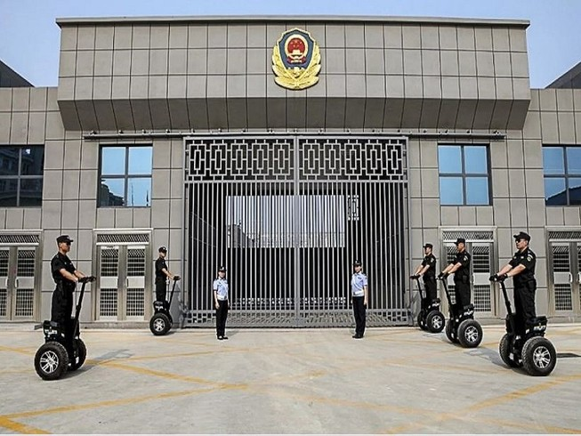 Nhà tù Rencheng ở tỉnh Sơn Đông, nơi hơn 200 tù nhân và quản giáo bị nhiễm COVID-19. Ảnh: SCMP