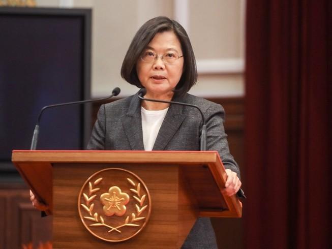 Lãnh đạo Đài Loan, bà Thái Anh Văn dừng các hoạt động chuẩn bị cho lễ nhậm chức của mình để tập trung phòng dịch COVID-19. Ảnh: TAIWAN NEWS