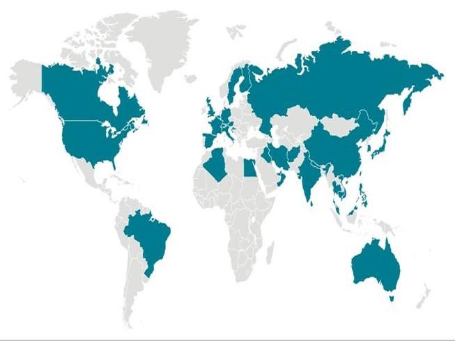 Dịch COVID-19 đã xuất hiện ở hầu hết các châu lục trên thế giới. Ảnh: CDC