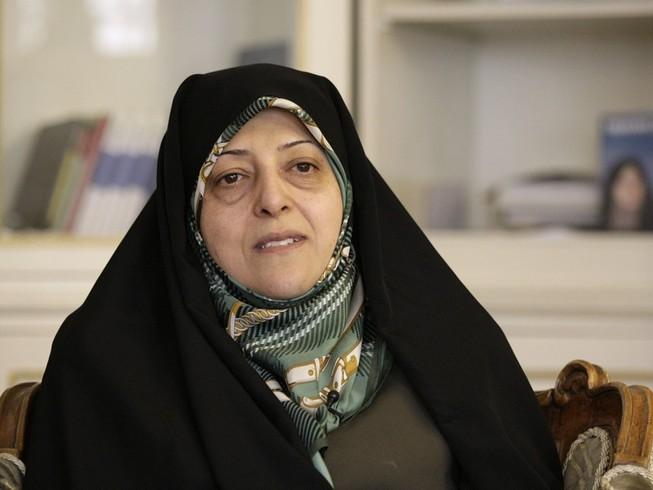 Phó Tổng thống Iran Masoumeh Ebtekar được xác định nhiễm virus COVID-19. Ảnh: AP