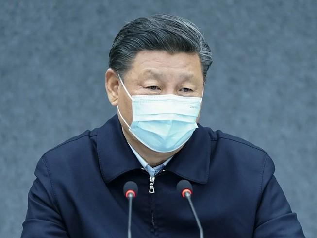 Chủ tịch Trung Quốc Tập Cận Binh lần đầu tiên đến thăm tâm dịch Vũ Hán. Ảnh: SCMP