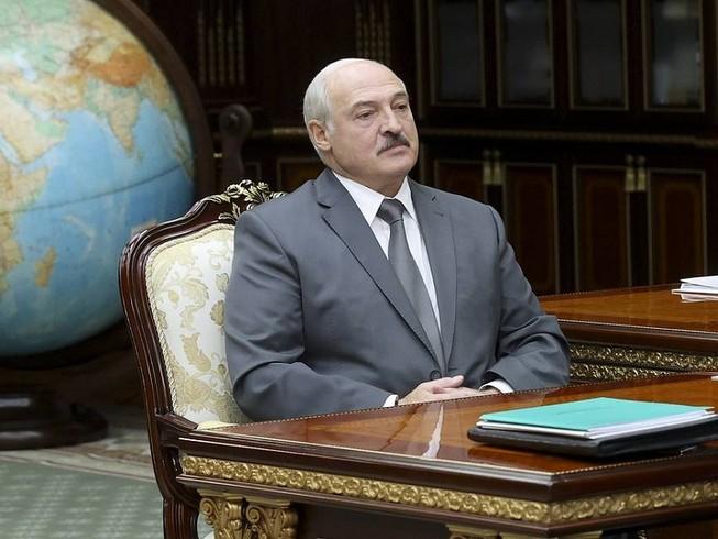 Tổng thống Belarus Alexander Lukashenko. Ảnh: AP/BELTA