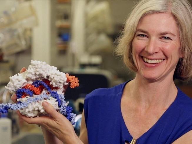 Tiến sĩ Jennifer Doudna - Chủ nhân giải Nobel Hóa học 2020. Ảnh: REUTERS