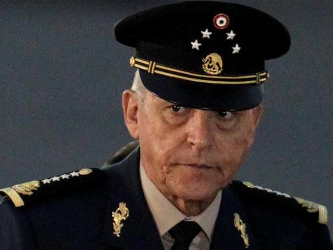Cựu Bộ trưởng Quốc phòng Mexico Salvador Cienfuegos Zepeda.
