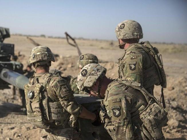 Lực lượng quân đội Mỹ làm nhiệm vụ ở Afghanistan.