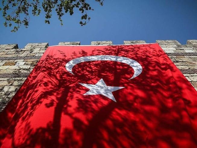Quốc kỳ Thổ Nhĩ Kỳ.
