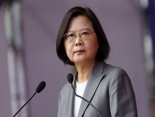 Nữ lãnh đạo Đài Loan Thái Anh Văn. Ảnh: AP