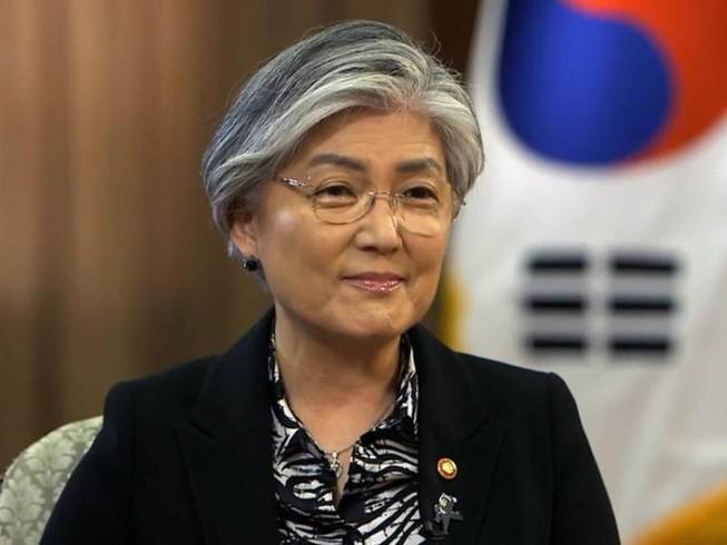 Ngoại trưởng Hàn Quốc Kang Kyung Wha. Ảnh: CNA