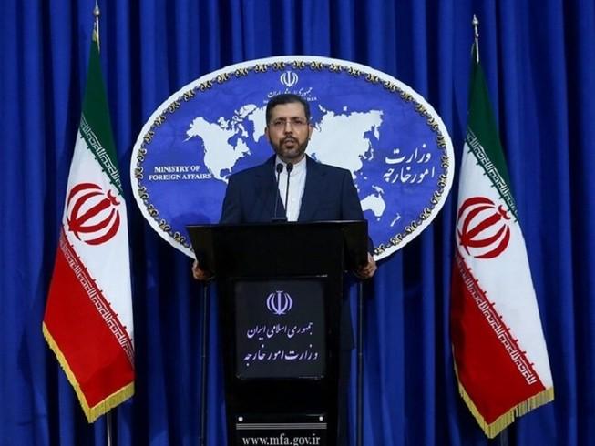 Người phát ngôn Bộ Ngoại giao Iran Saeed Khatibzadeh. Ảnh: TASNIM