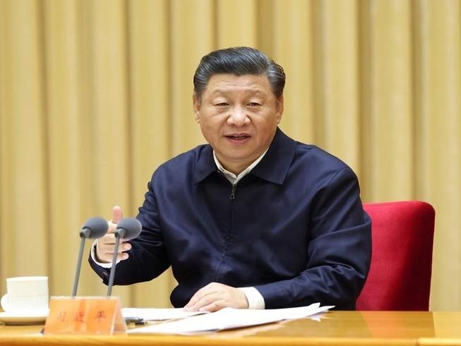 Chủ tịch Trung Quốc Tập Cận Bình là người đứng đầu Quân ủy Trung Ương. Ảnh: TÂN HOA XÃ