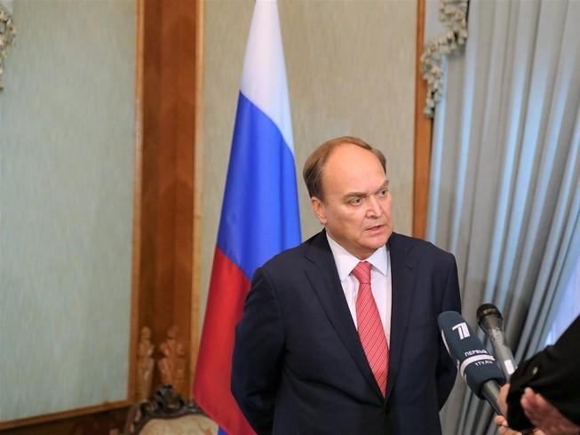 Đại sứ Nga tại Mỹ, ông Anatoly Antonov. Ảnh: ĐSQ NGA TẠI MỸ