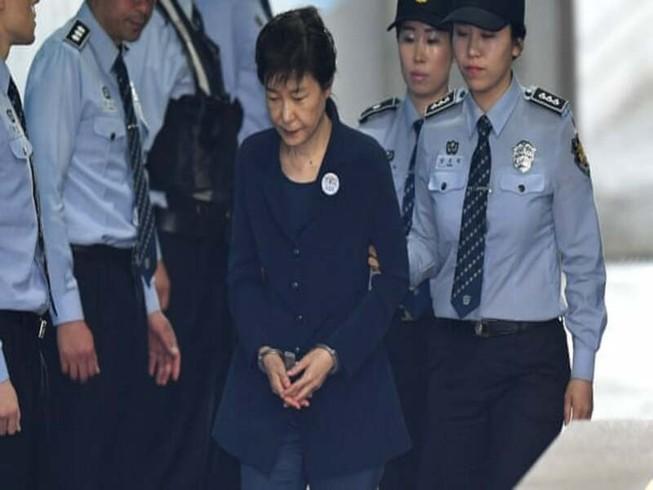 Cựu Tổng thống Park Geun-hye. Ảnh: Jung Yeon-Je/AFP/GETTY IMAGES