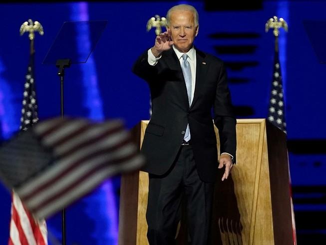 Tổng thống đắc cử Mỹ Joe Biden. Ảnh: GETTY