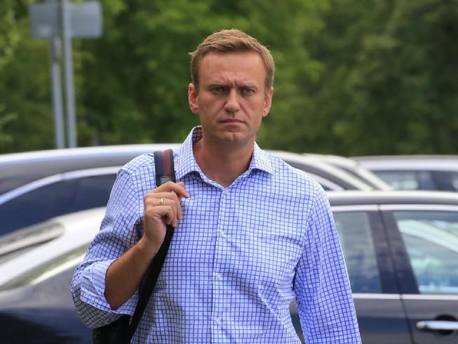 Nhân vật đối lập Nga Alexei Navalny. Ảnh: REUTERS