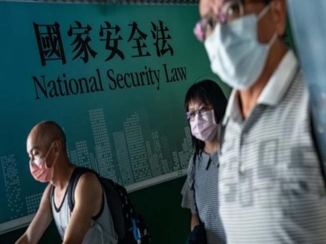 Mỹ thông báo lệnh trừng phạt vào các quan chức Hong Kong. Ảnh: Anthony Kwan/GETTY IMAGES.