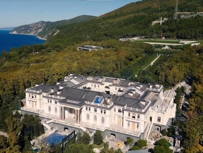 """Khu phức hợp ở mũi Idokopas bên bờ biển Đen, nơi được phương Tây gọi là """"Dinh thự của ông Putin"""". Ảnh: SCMP"""