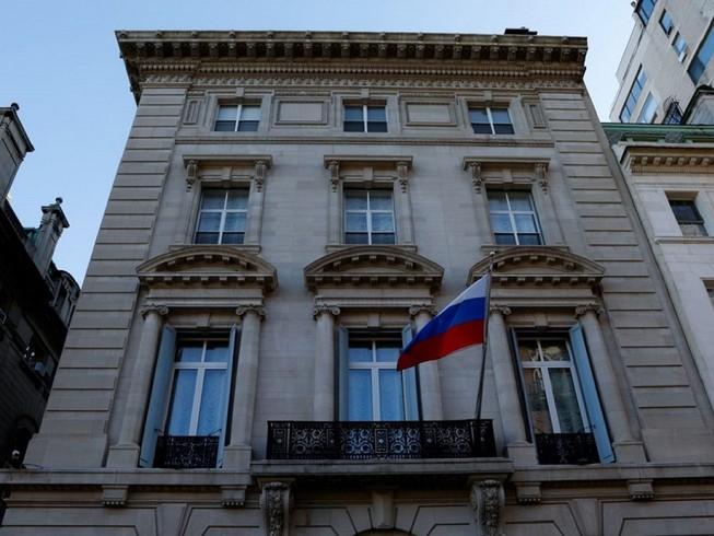 Tổng Lãnh sự quán Nga tại TP New York (Mỹ). Ảnh: VCG (Trung Quốc)