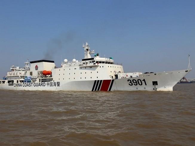 Tàu hải cảnh 3901 của Trung Quốc là tàu hải cảnh lớn nhất thế giới. Ảnh: SCMP