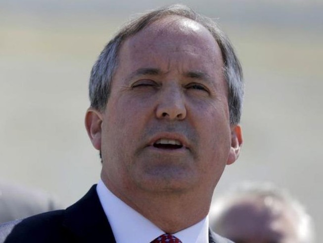 Tổng chưởng lý bang Texas Ken Paxton.