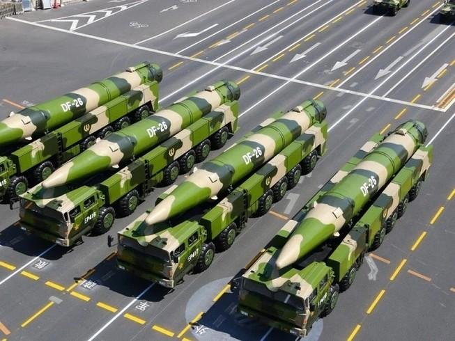 Có tin Trung Quốc điều 16 tên lửa DF-26 tới gần Nhật, Ấn Độ