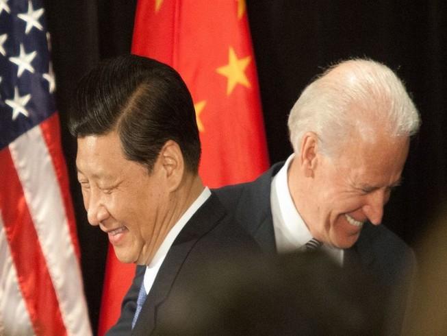 Tổng thống Joe Biden và Chủ tịch Tập Cận Bình. Ảnh: Tim Rue/Corbis/GETTY.