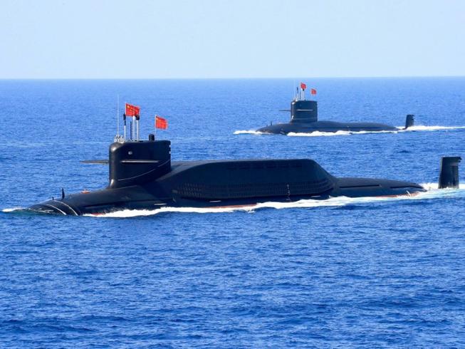 Trung Quốc đưa vào biên chế hai tàu ngầm hạt nhân Type 094A nâng cấp. Ảnh: REUTERS