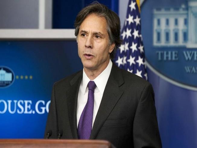 Ngoại trưởng Mỹ Antony Blinken. Ảnh: AP