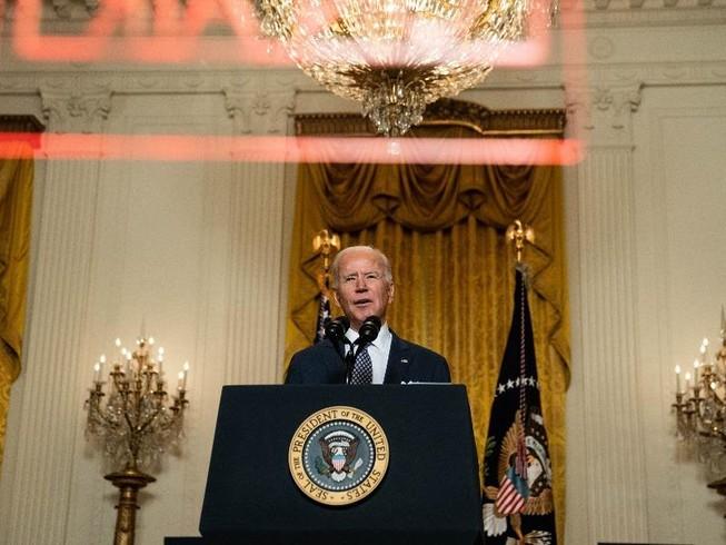 Tổng thống Mỹ Joe Biden. Ảnh: NEW YORK TIMES
