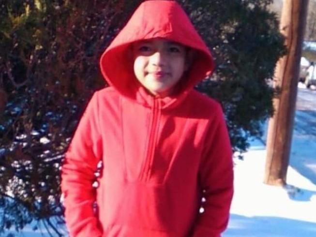 Cậu bé Cristian Pineda. Ảnh: CBS NEWS