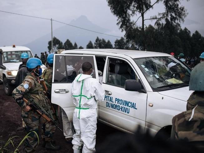 Đoàn xe Liên Hợp Quốc bị phục kích, Đại sứ Ý tại Congo thiệt mạng. Ảnh: AFP