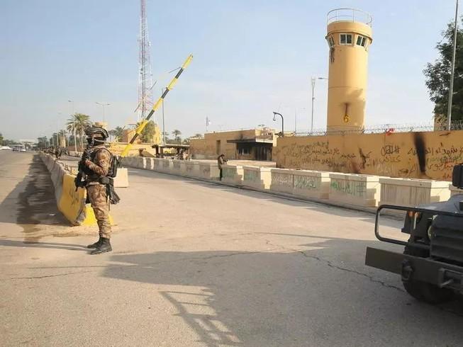Đại sứ quán Mỹ ở Iraq đã trở thành mục tiêu của các cuộc tấn công bằng tên lửa.