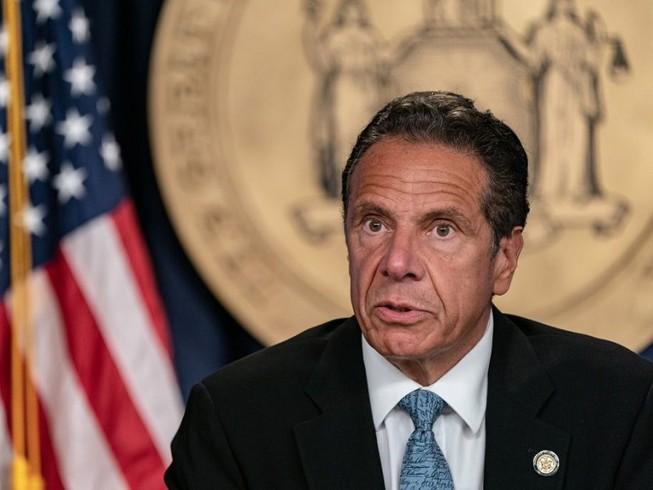 Thống đốc bang New York (Mỹ), ông Andrew Cuomo. Ảnh: GETTY