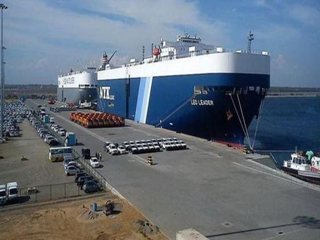 Cảng Hambantota, Sri Lanka. Ảnh: REUTERS