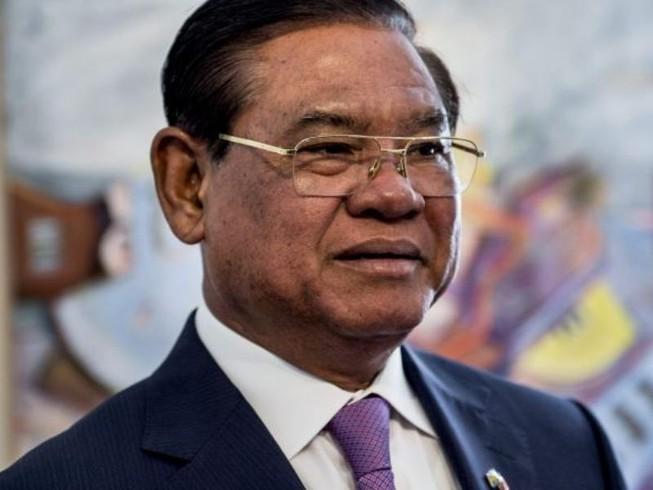 Ông Sar Kheng - Bộ trưởng Nội vụ Campuchia. Ảnh: AFP