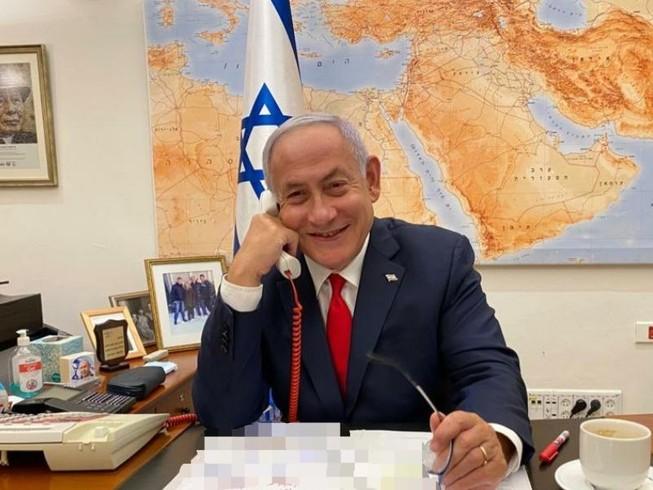 Thủ tướng Israel Benjamin Netanyahu có cuộc điện đàm với Tổng thống Mỹ Joe Biden hôm 17-2.