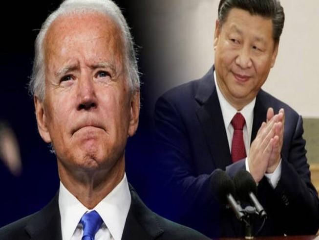 Tổng thống Mỹ Joe Biden (trái) và Chủ tịch Trung Quốc Tập Cận Bình (phải). Ảnh: CNN