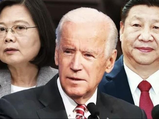 Ông Biden gọi Đài Loan là 'đối tác kinh tế và an ninh quan trọng'. Ảnh: AFP / GETTY IMAGES