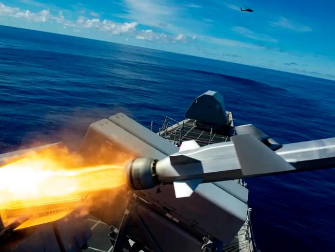 Mỹ sẽ thiết lập mạng lưới tên lửa tấn công đối phó Bắc Kinh. Ảnh: HẢI QUÂN MỸ