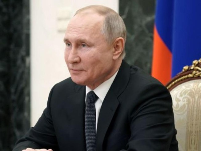 Tổng thống Nga Vladimir Putin gửi lời chúc đến phái nữ nhân ngày Quốc tế Phụ nữ 8-3.