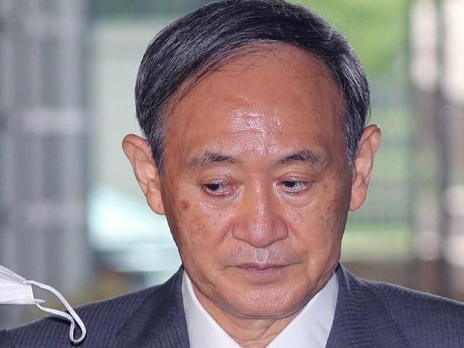 Thủ tướng Nhật Bản Yoshihide Suga. Ảnh: The Yomiuri Shimbun/AFP